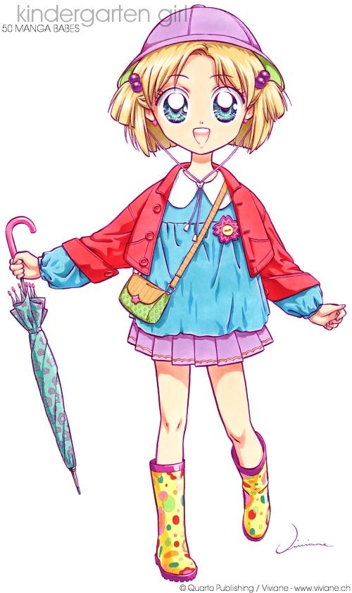 Viviane Anime Manga Artwork Gallery